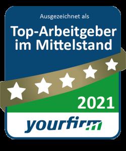 Top-Arbeitgeber im Mittelstand - yourfirm - Nutz GmbH