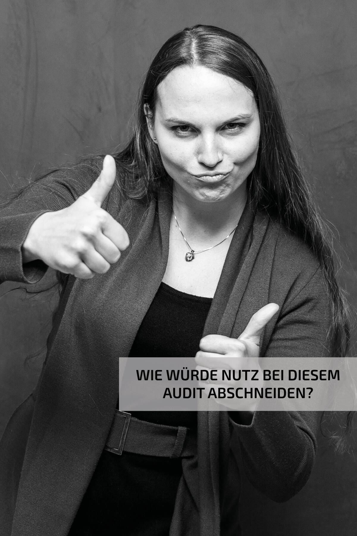 Umweltmanagement 5 - Janina Rötzer ohne Worte - Nutz GmbH